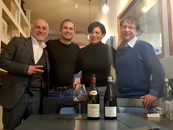 Wine tasting with excellence: Michael Palij and Lady Wine!