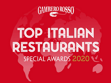 Our partner in UK Satyrio Italian Restaurant awarded by Gambero Rosso Top Italian Restaurants!