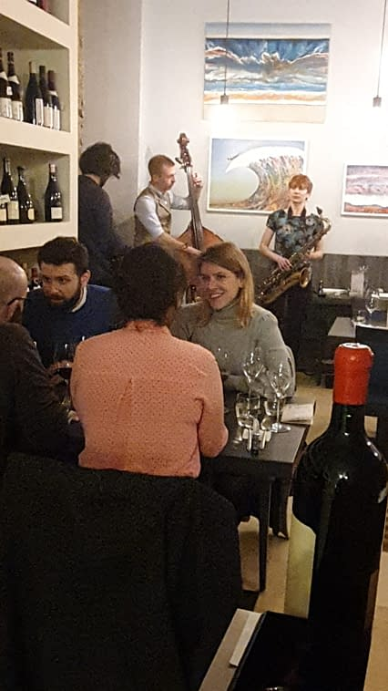Special events at Satyrio restaurant in London offering wine selection by Lady Wine