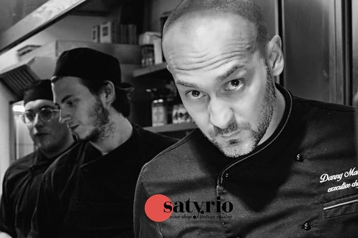 Lady Wine, Satyrio Italian Restaurant and Chef Danny Martin at Welcome Italia October 2019